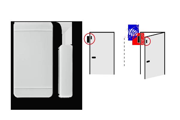 W230 Simpal-senzor za vrata