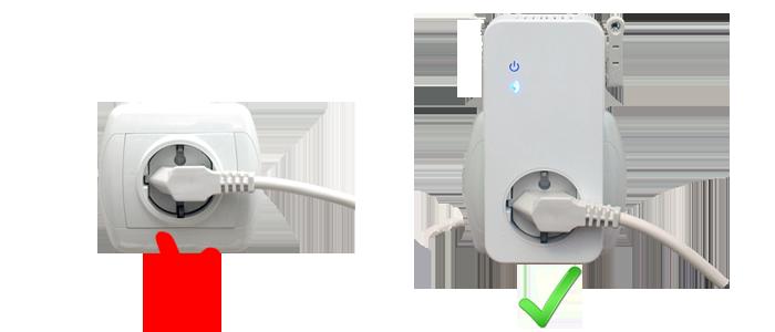 W230 WiFi utičnica - lako priključenje