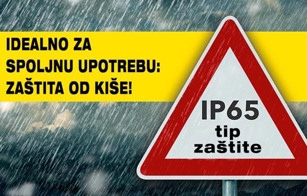IP65 zaštita IC grejalice