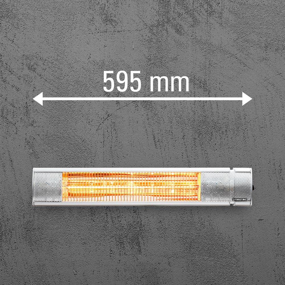 Infracrvena grejalica širine 595mm