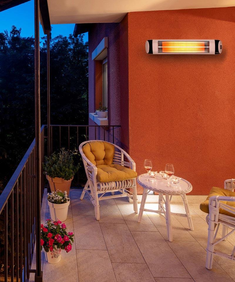 Infracrvena grejalica za terase i bašte