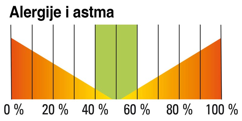 Stvaranje alergije i astme zbog vlage